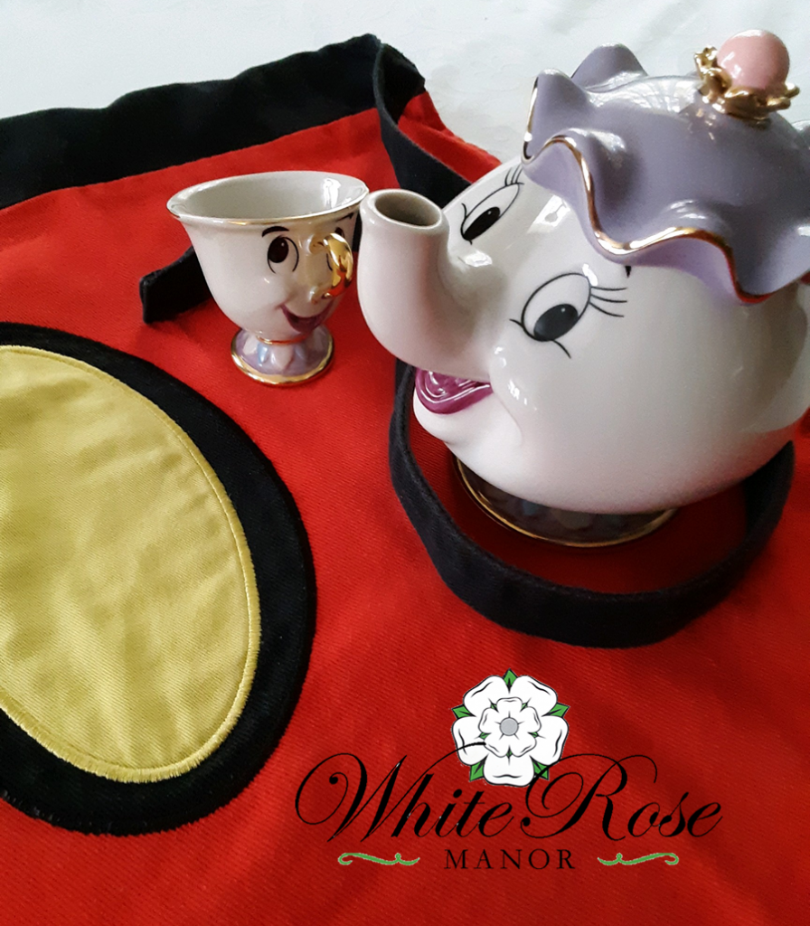 Mickey Mouse Apron, Mrs. Potts and Chip