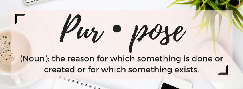 Purpose definition image